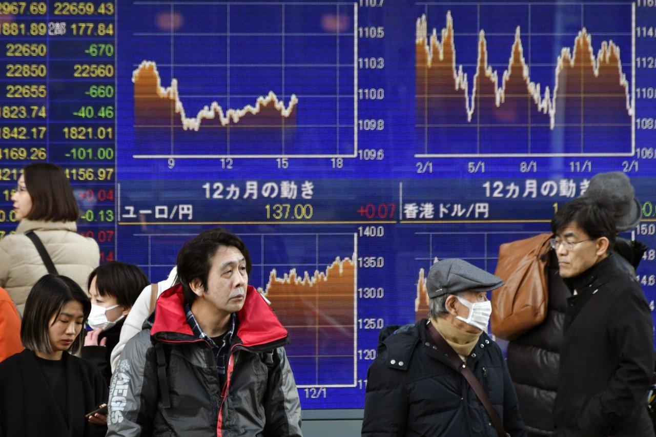 亚洲股市追随美股走势大幅下挫