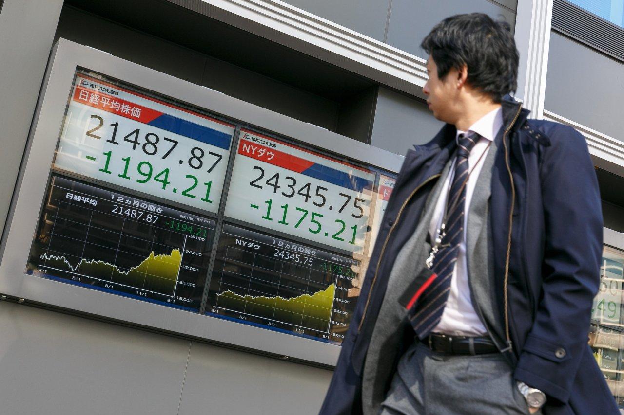 亚太股市延续全球暴跌走势