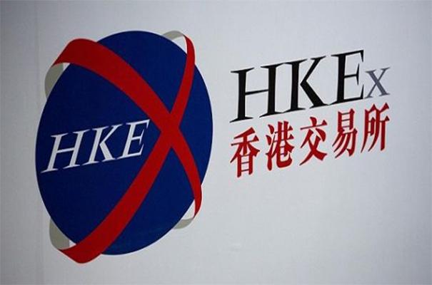 香港股市中午跌98点 港交所挫逾2%