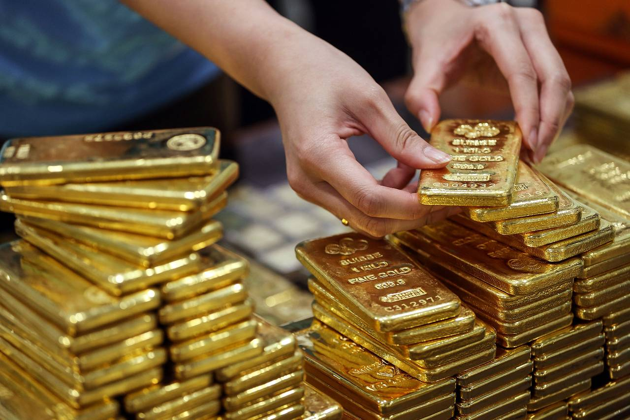 美元指数微降 黄金价格走扬