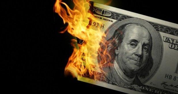 通货膨胀数据偏低美元连续第二天下跌