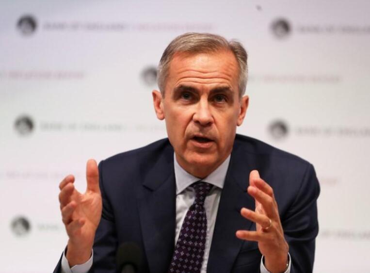 英国央行总裁卡尼同意延长任期至2020年1月末