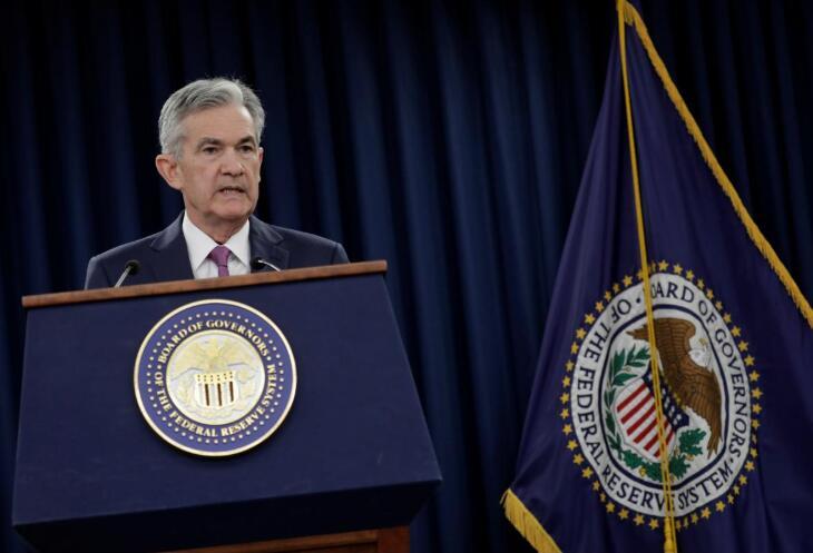 美联储主席鲍威尔暗示寻找政策信号应从联储措辞转向数据