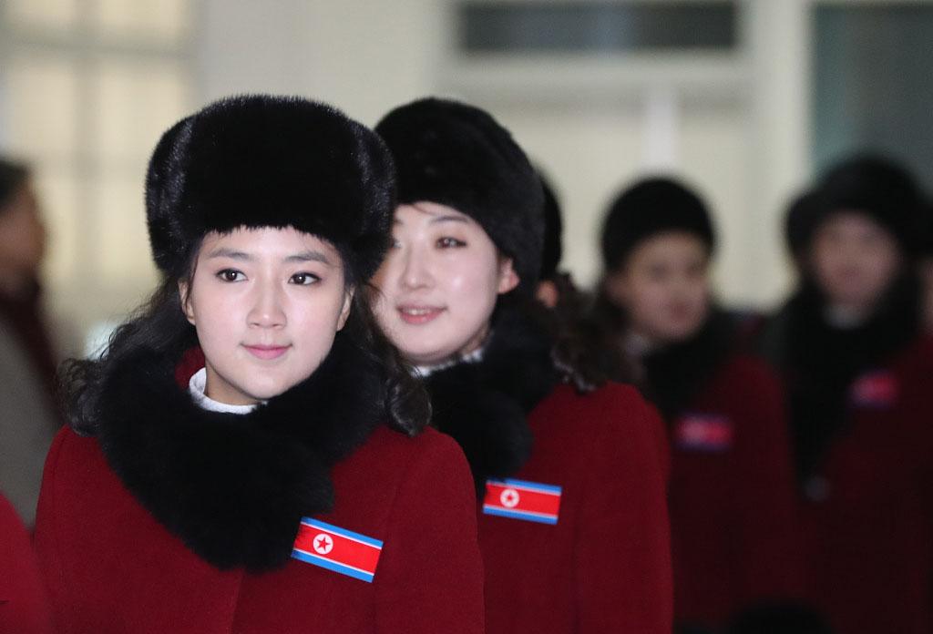 朝鲜拉拉队抵韩,拉拉队员光鲜背后有辛酸!