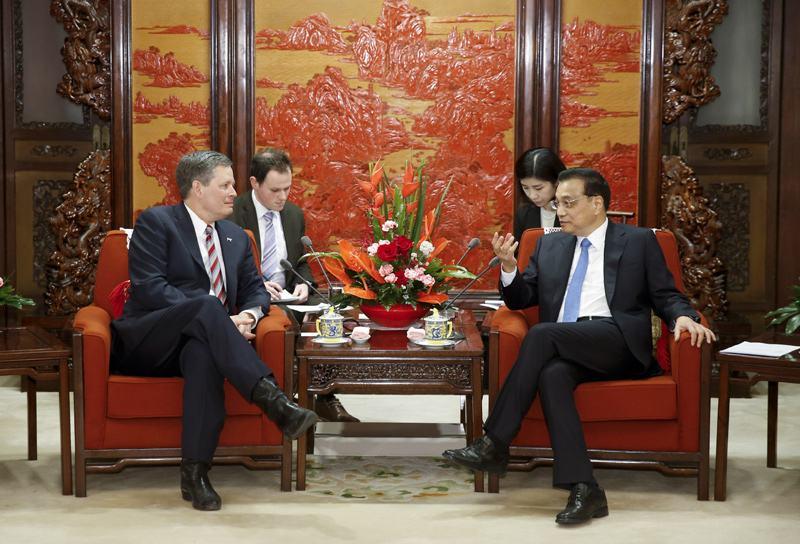 李克强会见美国国会议员访华团:贸易战解决不了摩擦