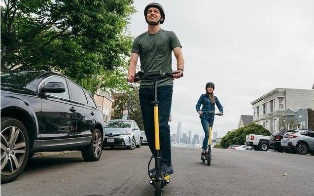 共享电动滑板车的风能吹向国内吗?