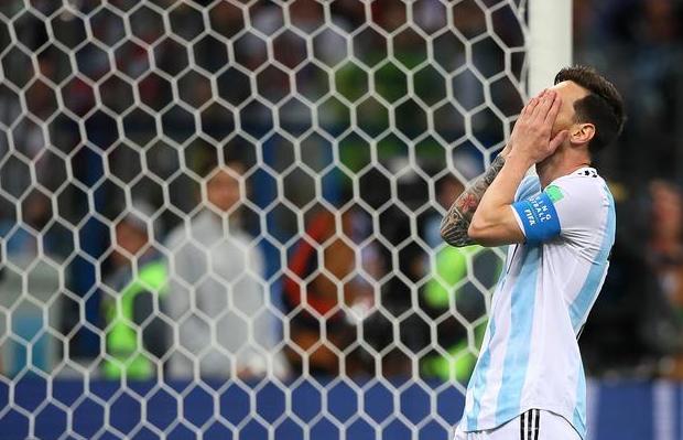 阿根廷门将失误 阿根廷0-3克罗地亚!