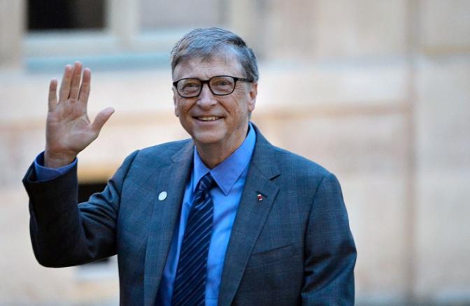 专访比尔·盖茨:期待和马云聊退休