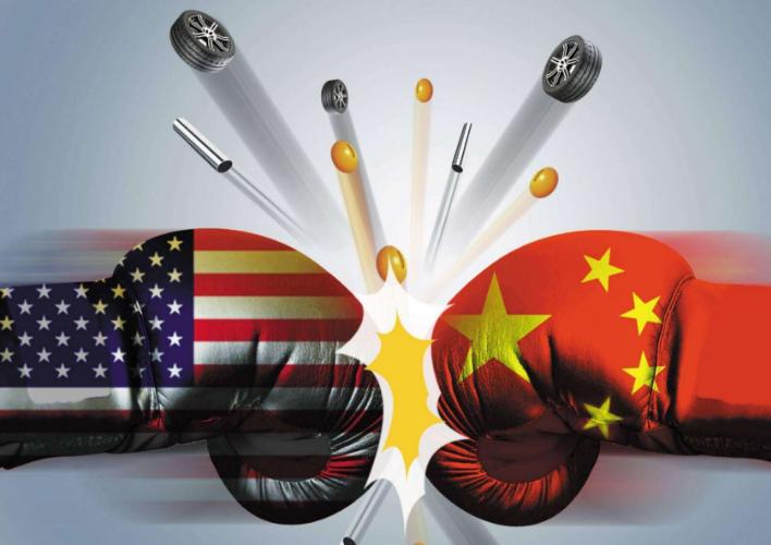 2018中美贸易战受益股