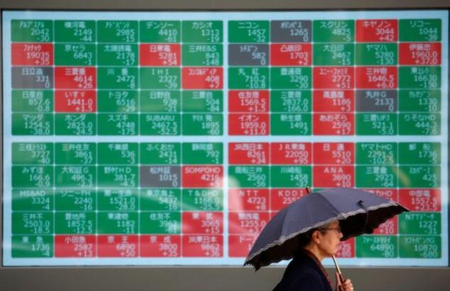 香港股市受打击 亚洲股市回吐涨幅