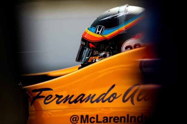 阿隆索在Indy500官方试车第三日