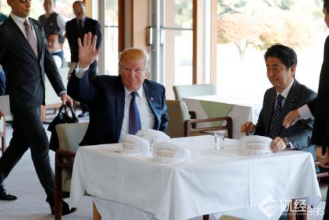 """特朗普访日,又批美日贸易""""不公平"""""""